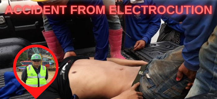 Accident from Electrocution