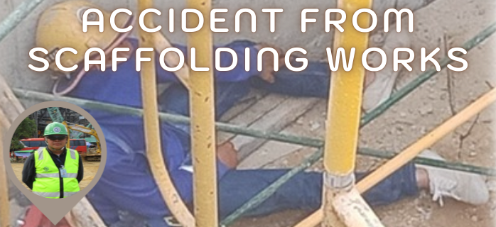 Accident from Scaffolding Works